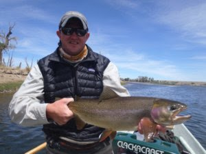 Wyoming fly fishing guide Lander Thermopolis Dubois