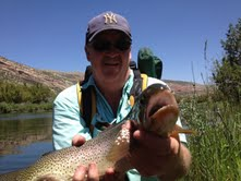 Wyoming fly fishing guide Lander Thermopolis