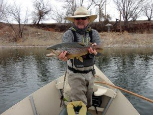 Bighorn river wy spring fishing report dunoir fishing for Bighorn river fishing report