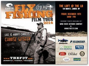 Fly Fishing Film Tour Lander, Wyoming