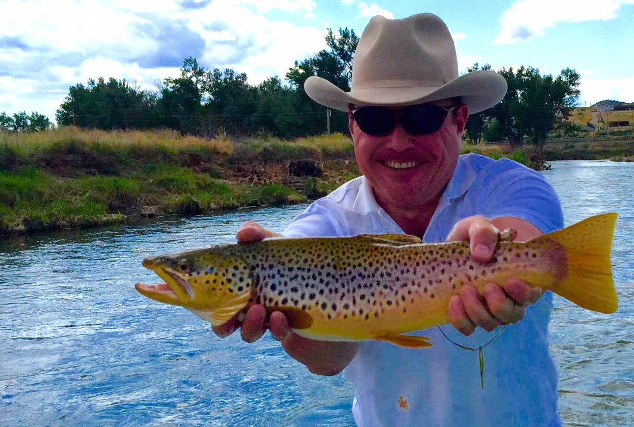Wyoming summer fly fishing thermopolis dubois report for Youtube trout fishing