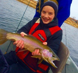 Bighorn River Winter Fishing in Wyoming