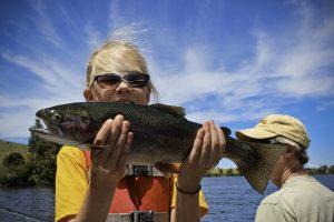 Dubois Wyoming Fishing Rainbow Trout