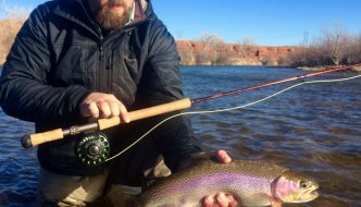 Wyoming fishing guides bighorn river green river wind for Bighorn river fishing report