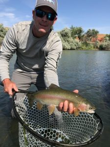 Summer Fly Fishing in Wyoming Wind River and Bighorn River Guide Report August 2018