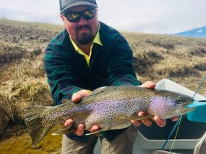 Bighorn River Wyoming Fishing Report Spring Spawn