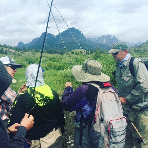 Family Fly Fishing Dubois Wyoming Guide Service