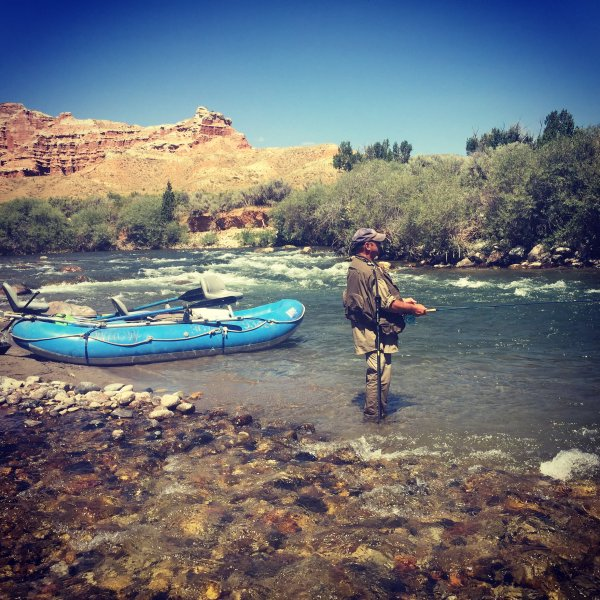 Experienced Raft Guides Wind River Dubois Wyoming
