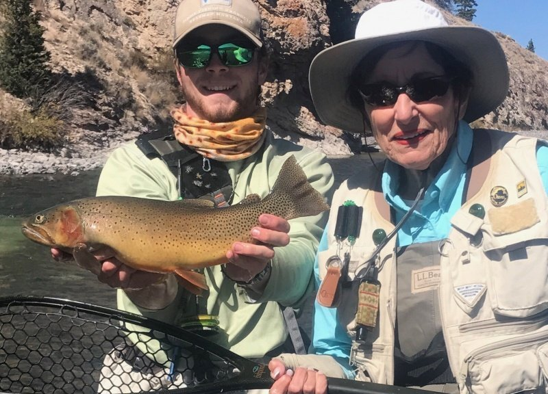 Wind River Dubois Wyoming Fly Fishing