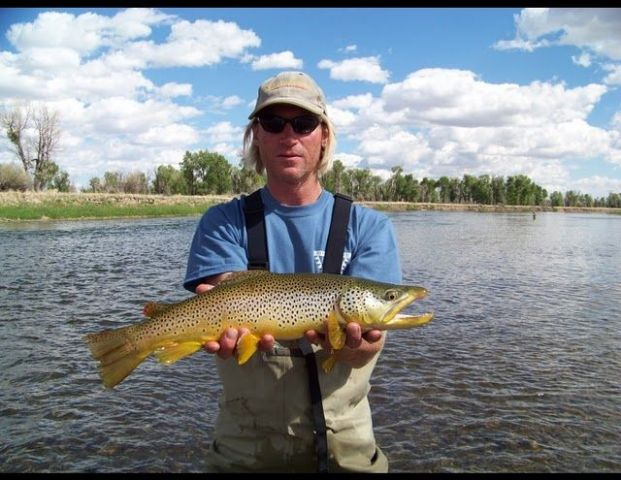 Wade Fishing 'Guides Green River Wyoming
