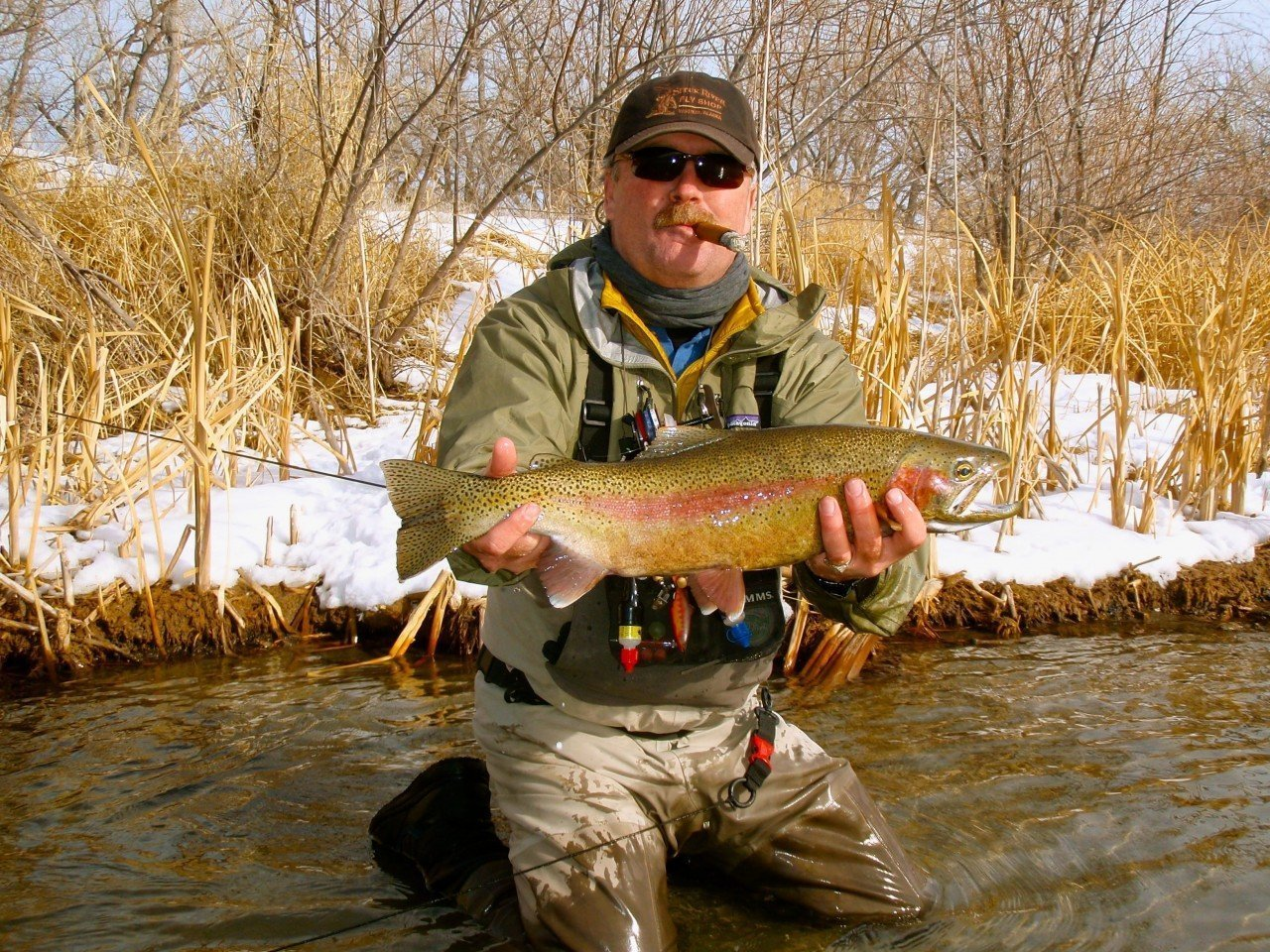 Winter Fishing Guides Thermopolis Wyoming