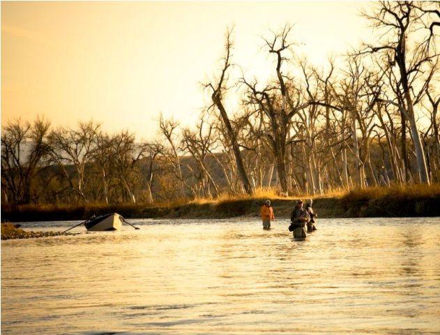 Wade Fishing Thermopolis Wyoming