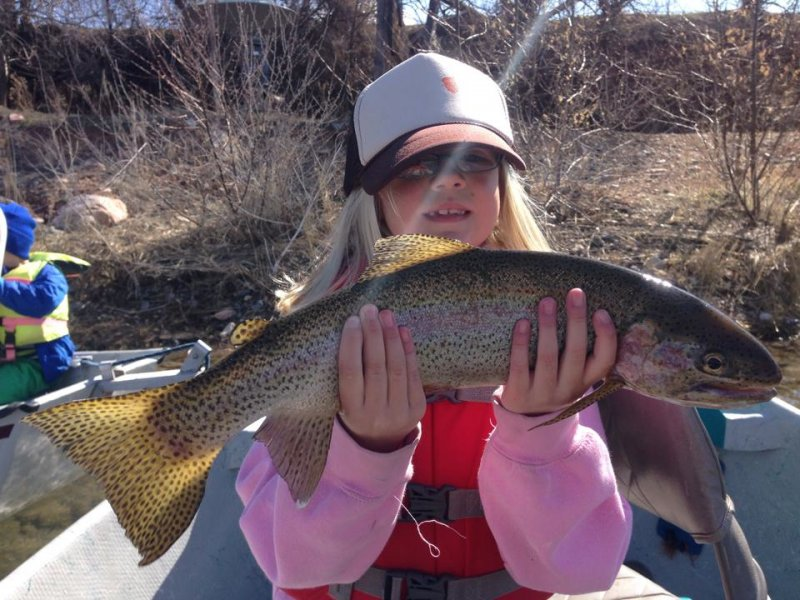 Kids on the Fly in Wyoming, Bighorn River