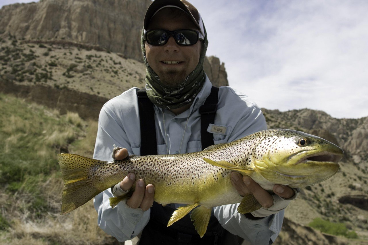 Wyoming Fly Fishing Thermopolis