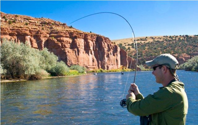 Bighorn River Wyoming Fishing Guides Summer