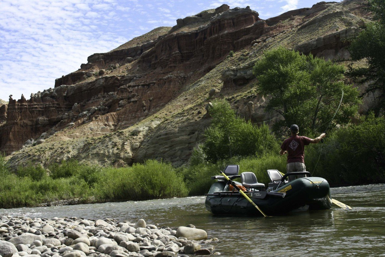 Wind River Dubois Raft Fly Fishing Guides