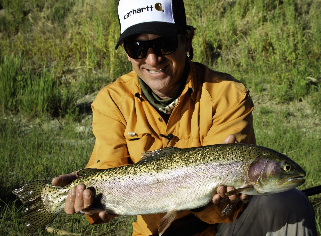 Thermopolis Wyoming Fly Fishing Spring