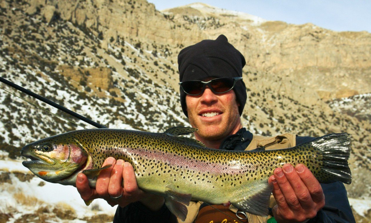 Winter Fly Fishing Guides Wind River