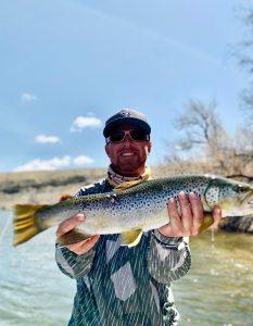Bighorn River Wyoming Fishing Guide Rusty