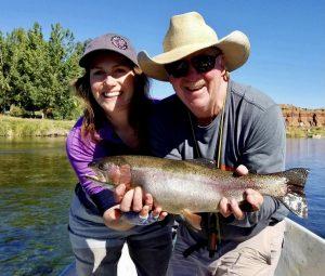 Wyoming fly fishing guide Lander Thermopolis